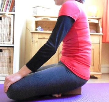 2- Laisser le dos s'arrondir