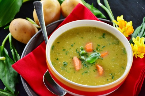 soupe ortie ayurveda kapha astringent