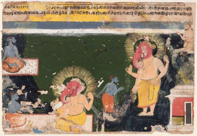 Ganesh Vyasa Mahabharata