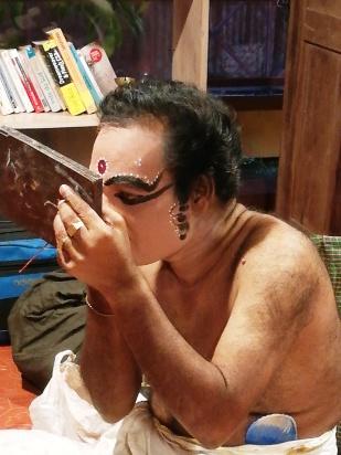 Kerala maquillage