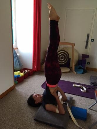 chandelle yoga serge