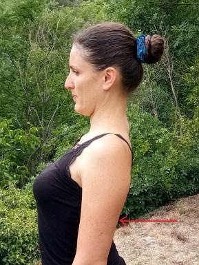 épaules cambrer yoga