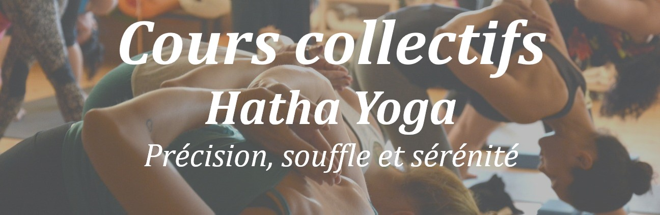 cours collectifs hatha yoga lyon