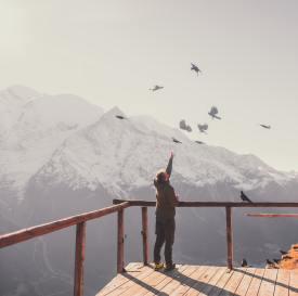 respiration yogique montagne